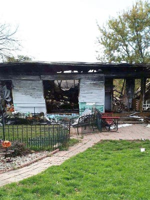Crystal Formaro's house unexpectedly blew up at about 10 a.m. on Oct. 16. The home is located two miles south of Indianola.