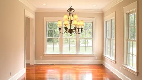 "Houselogic.com says that molding is ""a budget-friendly improvement that trims a room for a finished and expensive look."""
