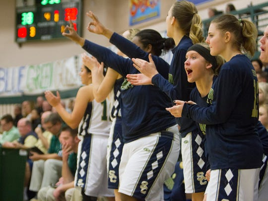 Snow Canyon girls basketball beats Pine View High 53-41 Tuesday, Feb. 2, 2016.