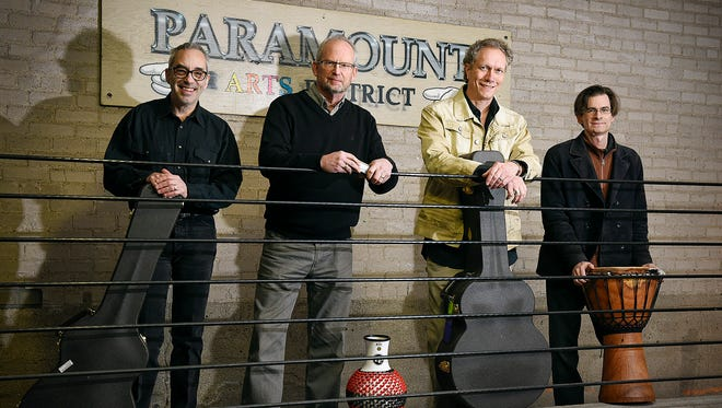 Dan Neale, (left to right) Dennis Kennedy, Dennis Warner and Derrick Raiter on April 5 at the Paramount Theatre.
