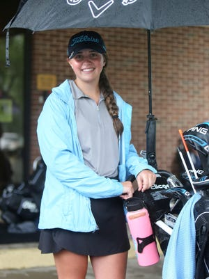 Erin Strouse won the girls ages 13-15 division at Monday's First Tee of Canton Junior Tour event at Arrowhead Golf Club.