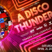 Get ready to dance at Thunder Over Louisville. The 2018 show is all about disco