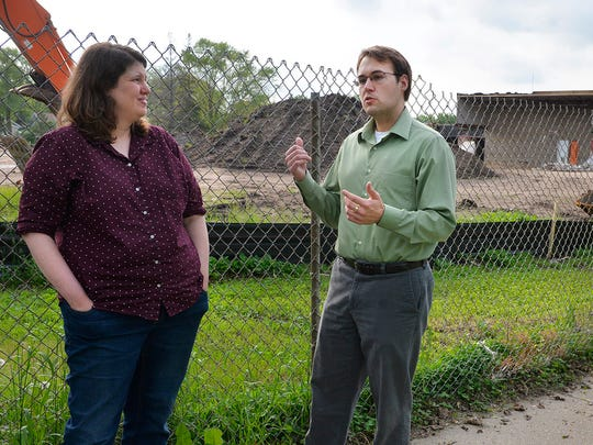Kate Kompas and David Brakke were working in the St. Cloud Times newsroom the night of June 14, 2014, and were among the first observers on the scene when fire destroyed the Roosevelt Education Center.