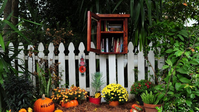 Little Free Libraries, like the one on Azalea Street in Lafayette, were created in 2009 in Wisconsin by Todd Bol, in memory of his mother.