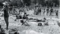 The Old Mill Bathing Beach, Paramus, in 1962
