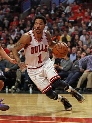 Former Bulls guard Derrick Rose was traded to the New York Knicks  for Robin Lopez, Jose Calderon and Jerian Grant.