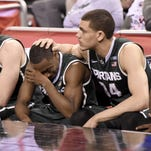 Tom Izzo delivers somber goodbye to 'Tum Tum' Nairn, Gavin Schilling after upset loss