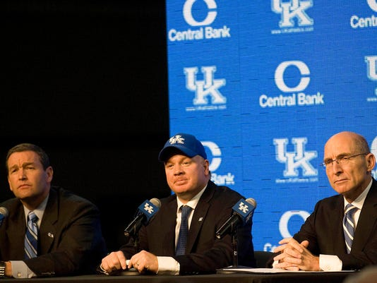 NCAA Football: University of Kentucky-Press Conference