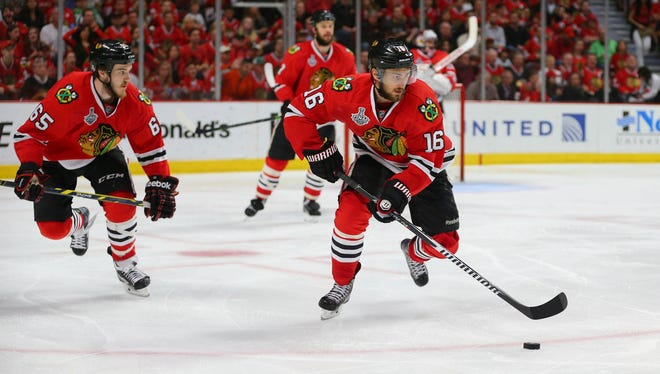 For the third consecutive year, the Stanley Cup champion Chicago Blackhawks will hold camp at Notre Dame.