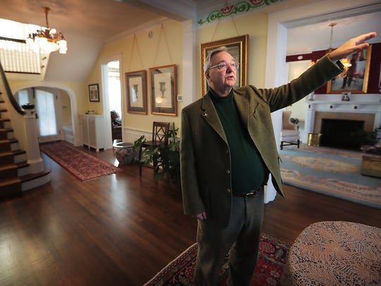 Ben Teague shows off a colonial revival home at 1615