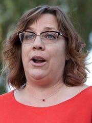 NARAL Pro-Choice Arizona chief Kat Sabine's home was targeted by a tip sent anonymously to the <252>state health department.