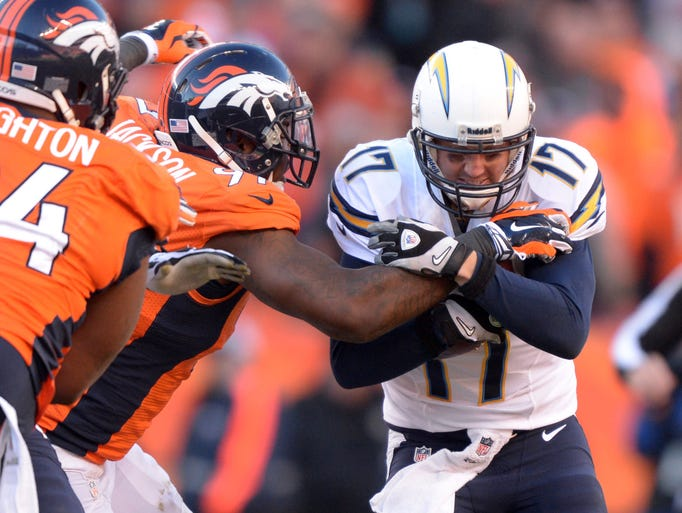 Afc Divisional Playoffs Broncos Vs Chargers