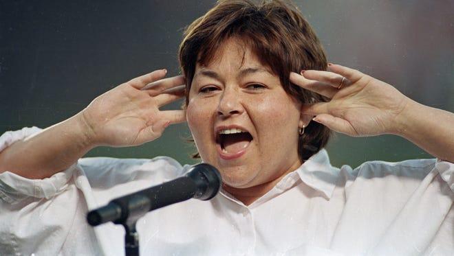 Roseanne Barr in 1990.