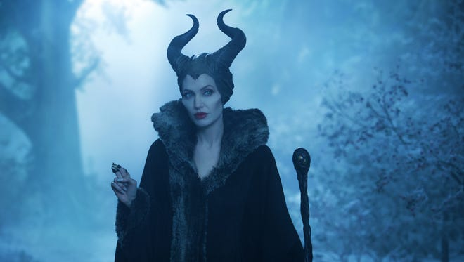 """Angelina Jolie as Maleficent in a scene from the Disney motion picture """"Maleficent."""""""