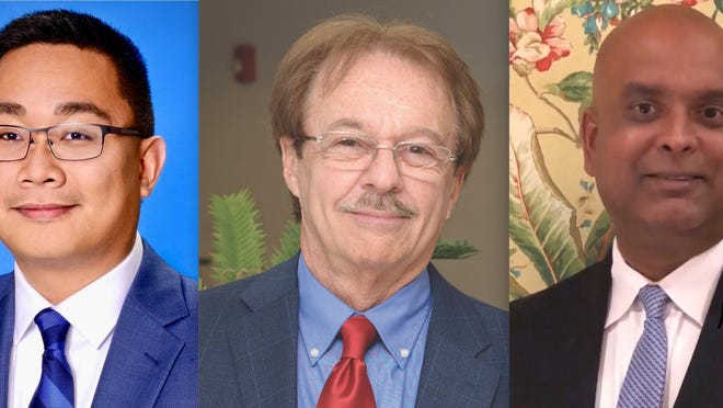 Candidates for Boynton's District 4 City Commission seat are Ty Penserga, David Katz and Rick Maharajh.