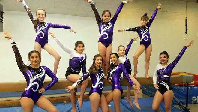 The Deming Dust Devils are, back row, from left, Kaylee McMillan, Anitza Castaneda, Noeli Mondragon, Brailee Sanders and Carlie Maynes.  In front row, from lefrt, are Esmeralda Serrano, Mercedes Perez, Maribel Granillo and Monique Perez. Not pictured are Laila Lopez and Lesly Lozano.