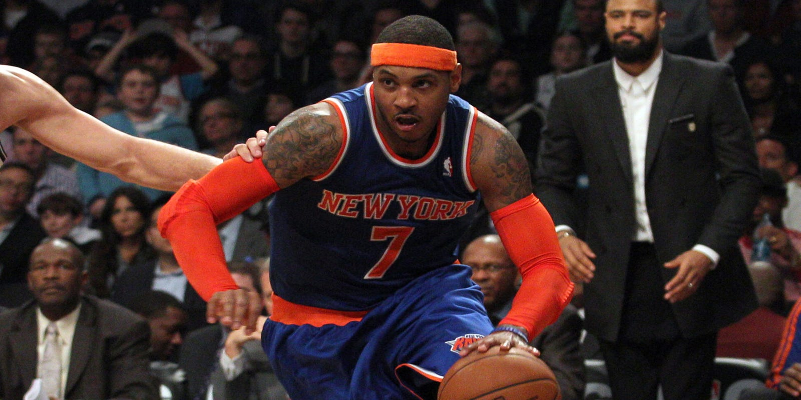 Knicks rout Nets in first intercity meeting of season 5e04c962e