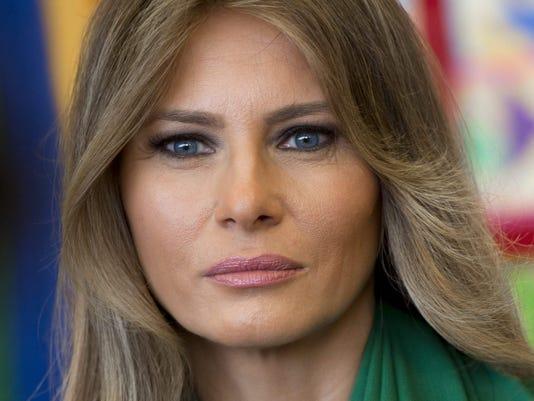 Missing Melania Trump Returns To Flotus Duty At White House