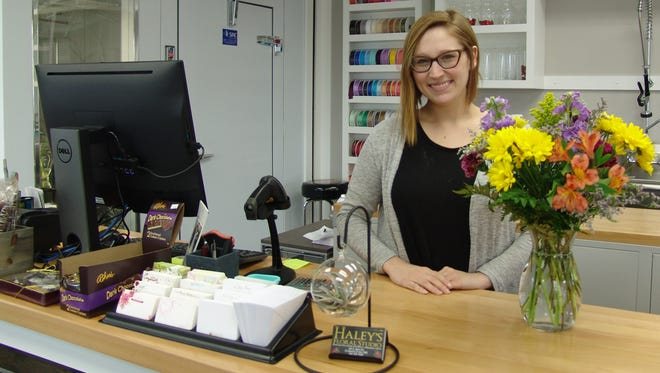 Haley's Floral Studio located at 139 S. Third St. opened for business on Jan. 2. Since then Haley Ianniello has been busy stocking the store with flesh floral arrangements and live plants including a variety of house plants and low-maintenance air plants.