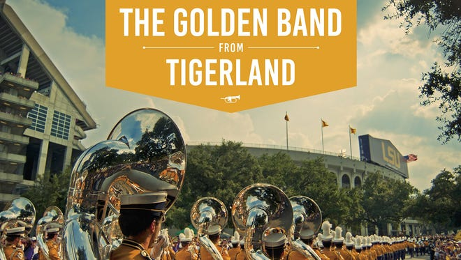 """""""The Golden Band from Tigerland"""" by Tom Continé, Faye Phillips."""