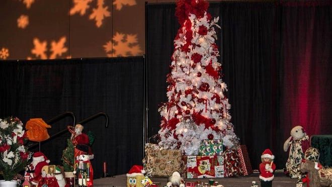 The Palm Springs Convention Center will be decorated for a Christmas Party presented by Well in the Desert