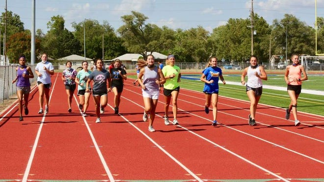 The Hutchinson High girls cross country team returns two state qualifiers from last year. Both Salthawk teams will be young this season.