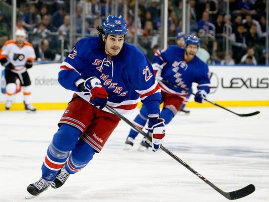 Rangers 2014 playoffs Brian Boyle