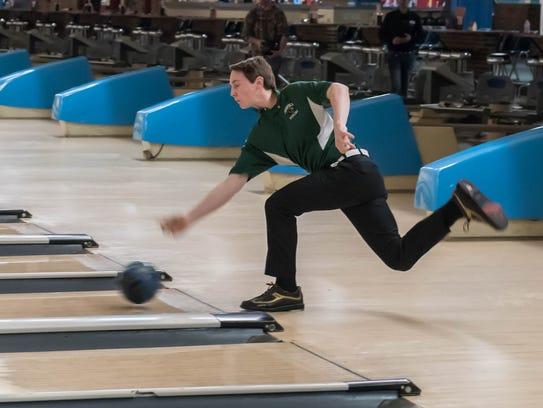 Pennfield sophomore James Ruoff during the All City