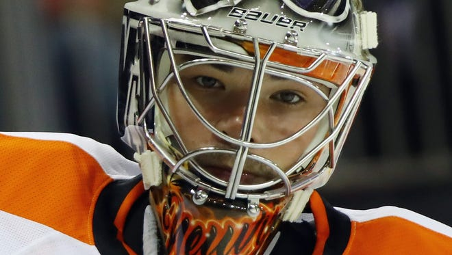 Michal Neuvirth played in two preseason games and allowed five goals on 54 shots.