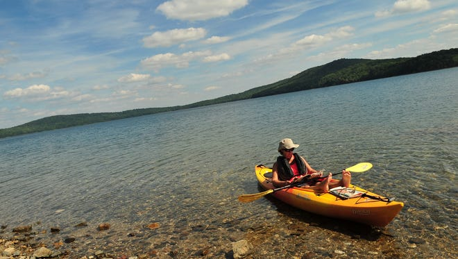 """The Hunterdon County freeholders have authorized a study of how to boost tourism, the """"sleeping giant"""" of the county's economy. Round Valley Reservoir is one of the county's top destinations for tourists."""