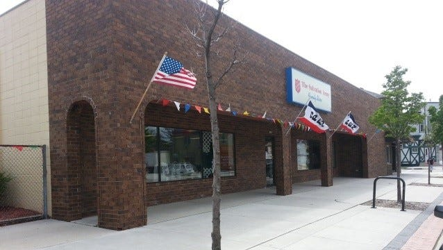 The Salvation Army Thrift Store is located at 1029 Michigan Avenue in Sheboygan.