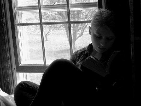 Erin Soldner's black-and-white portrait.