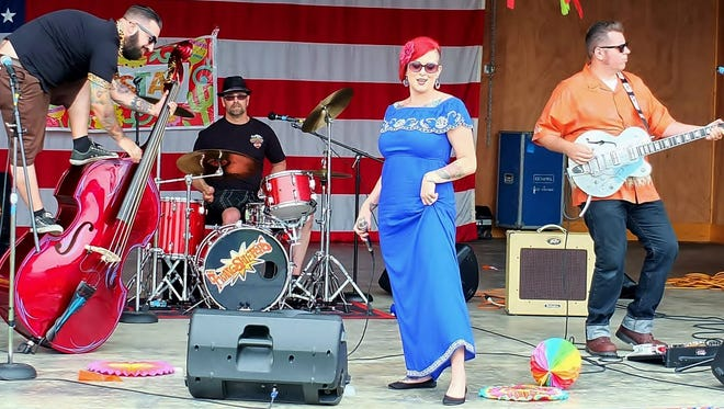 Portland rockabilly band The Twangshifters