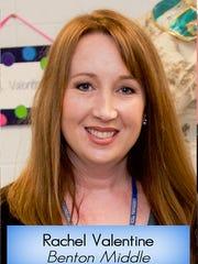 The district selected Benton Middle School teacher