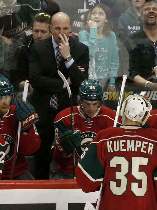 Mike Yeo, Darcy Kuemper