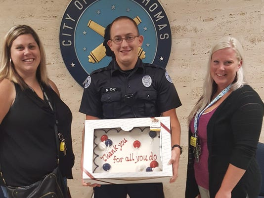 CAK police cakes 1