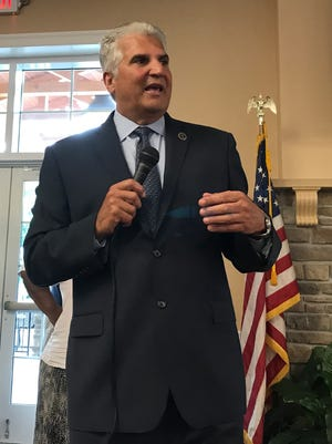 Essex County Executive Joseph DiVincenzo was accused of spending campaign money on trips to Puerto Rico and a gym membership, among other things.