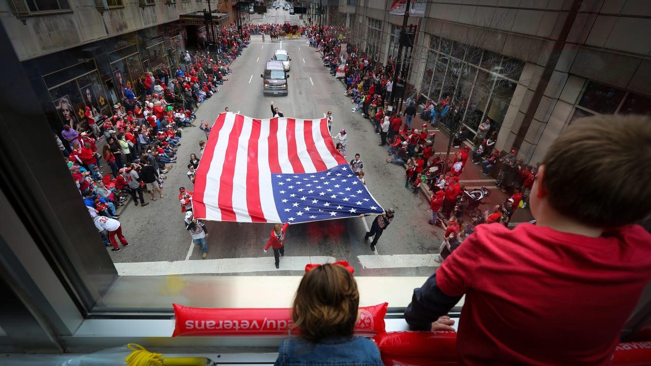 """As Enquirer columnist Paul Daugherty writes, """"We didn't invent the day. It just seems like we did. After six months of cold and clouds and darkness at five o'clock, who would not be utterly and entirely ready for the light of Opening Day?"""""""