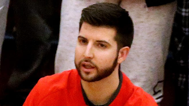 Oakland's assistant boys basketball coach Tyler Soffiantino has been placed on unpaid leave pending a criminal investigation, Rutherford County Schools spokesman James Evans said on Thursday.