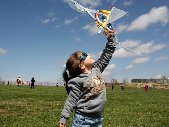 The Cherry Blossom Kite & Pinata Festival is Saturday.