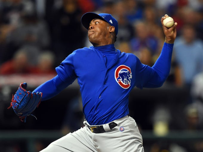 Aroldis Chapman (2017-21): 5 years, $86 million - signed