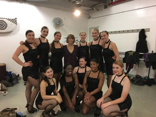 (back l-r):  SCVTHS students Katie Rose Davis, Eleanor Faherty, Jess Moschette, SCVTHS Instructor Mary Lynne McAnally, Rachel Ambrose, Erin Stewart, Maggie Fairley (front l-r):  Melodee Petrushka, Brianna Bolt, Jess Paolillo, Ciani Crosby, and Cassie Mountney.