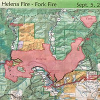 Some Helena Fire Evacuees Can Go Home Today
