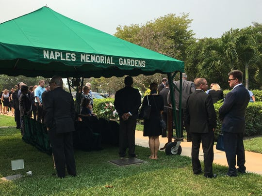 The funeral service for Truly Nolen on Friday, April 21, 2017 in Naples. Nolen died Tuesday in his Naples home. He was 89.