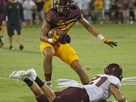 ASU: Curtis Hodges, wide receiver, 6-8, 221, sophomore,