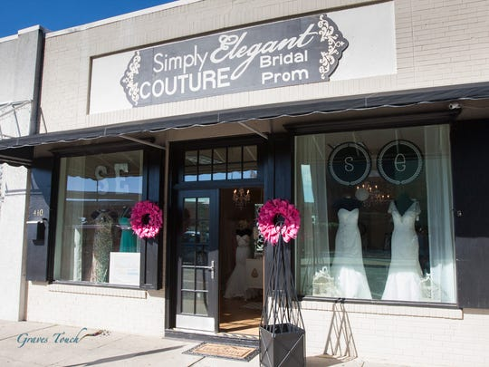 Simply Elegant Couture recently opened at 410 East Wright Street. The store's inventory includes wedding, prom and formal gowns, which are displayed in the 1,000-square-foot boutique.