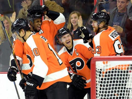 NHL: Columbus Blue Jackets at Philadelphia Flyers