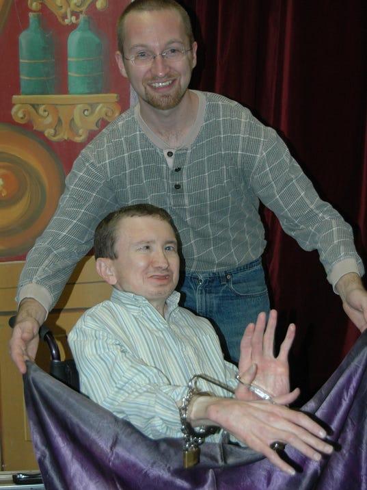 The Vanishing Wheelchair show Oct. 17