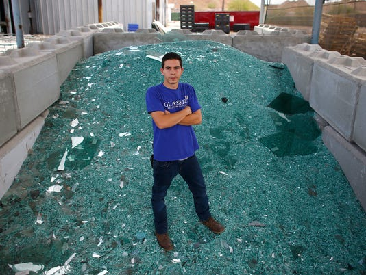 GlassKing glass recycling in Phoenix