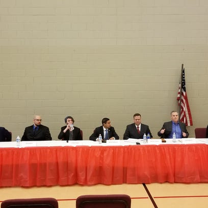 Seven Republican candidates for Indiana's Fourth Congressional
